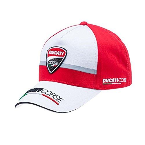 Ducati Corse Official MotoGP Race Team Cap Adjustable Embroidered Snapback Hat