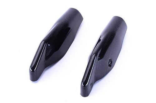 Bestem CBDU-HPMTD-FKC Black Carbon Fiber Fork Covers for Ducati Hypermotard 7961100