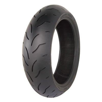 18055ZR-17 73W Bridgestone Battlax BT016 Pro Hypersport Rear Motorcycle Tire for Ducati 1100 Monster 1100S 2009-2010