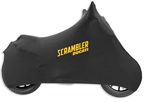 Ducati Scrambler Indoor Dust Cover Black Canvas 97580031A