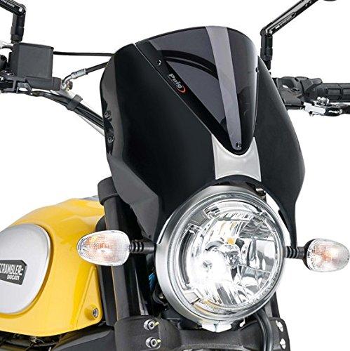 Windscreen Puig Ducati Scrambler Icon 15-16 dark smoke