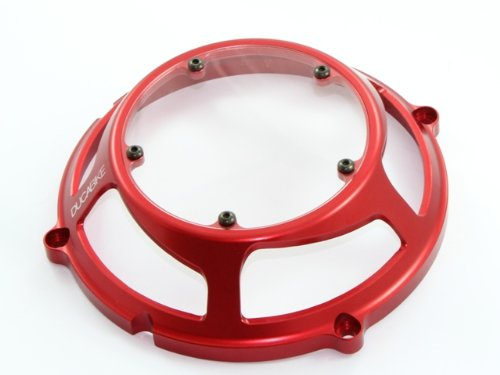 Ducabike Ducati Clutch Cover Billet With Plexiglass