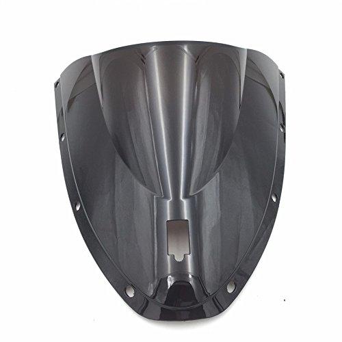 HTT Group Motorcycle Smoke Black Abs Windshield Windscreen For 2003 2004 Ducati 749 999