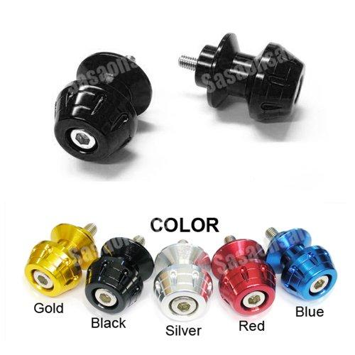 MIT Motors - BLACK - 8mm Universal Swingarm Spools - HONDA CBR F1 F2 F3 F4 F4i 600 900 929 954 1000 RR RVT 1000 RC51 SP1 SP2 DUCATI 749 999 1098