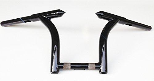 FMB MHBM10FMB 10 Mini Hellbent Bars Custom Ape hangers For Harley Road Glide Road King