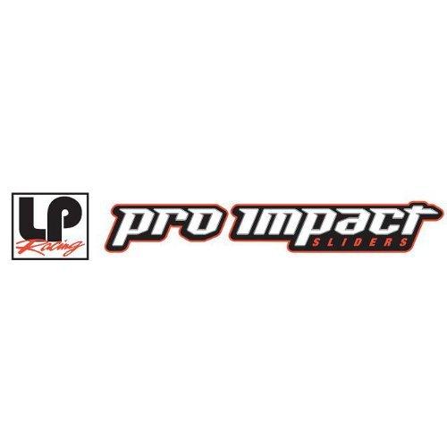 LP USA Pro Impact Carbon Fiber Frame Sliders BMW S1000RR 10-13 NO-CUT