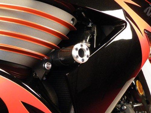 LP USA Pro Impact Carbon Fiber Frame Sliders Kawasaki ZX14 06-10