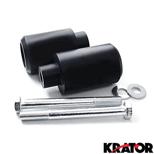 Krator Black Frame Sliders Delrin Fairing Crash Protector For 2006 Honda CBR 600 F4 F4i