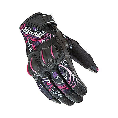 Joe Rocket Cyntek Womens Mesh On-road Motorcycle Leather Gloves - Eye Candy / Medium