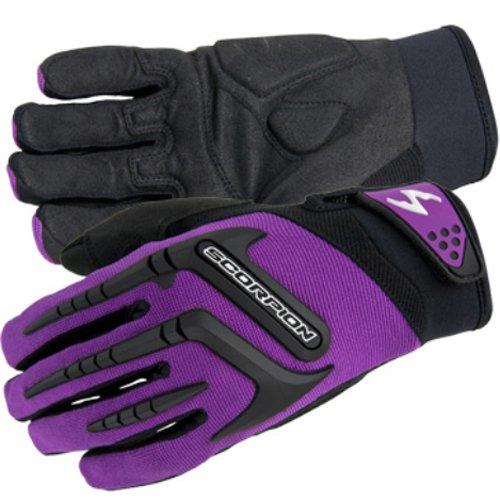 Scorpion Women's Skrub Gloves - Medium/purple