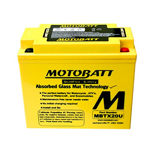 New MotoBatt Battery Fits Honda GL1800 VF1100C VTX1800C XL1000V Motorcycle