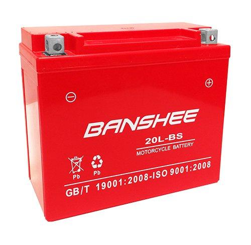 Banshee AGM GTX20LBS YTX20L-BS Maintenance Free Jetski ATV Motorcycle Battery