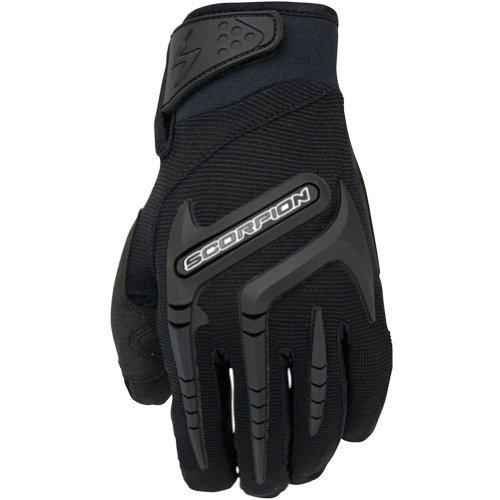 Scorpion Skrub Women's Textile Sports Bike Racing Motorcycle Gloves - Black / Large