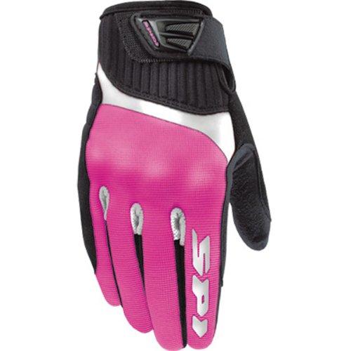 Spidi G-flash Women's Textile/vented Street Bike Racing Motorcycle Gloves - Pink/black / X-large