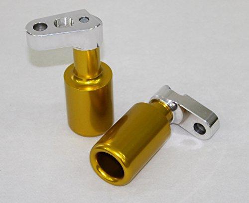 HONDA CBR 600RR 07-08  NO CUT FRAME SLIDERS - GOLDEN YELLOW FSMA05