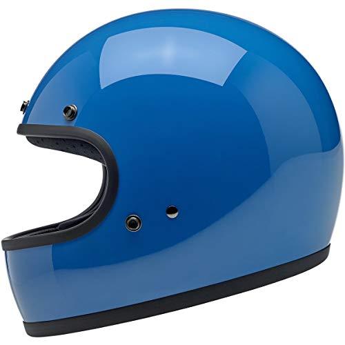 4into1 Biltwell Gringo DOTECE Helmet - Gloss Tahoe Blue - X-Small