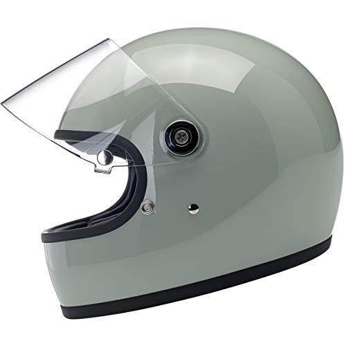 Biltwell Gringo S - DOTECE Helmet - Gloss Sage Green - X-Large