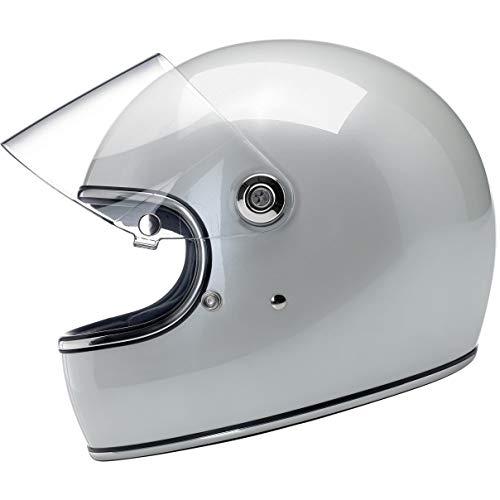 Biltwell Gringo S - DOTECE Helmet - Metallic Pearl White - Medium