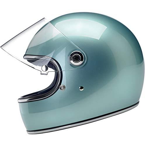 Biltwell Gringo S - DOTECE Helmet - Metallic Sea Foam - Medium