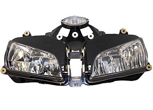 Sportbike Headlights SHL-1003-5 Black Motorcycle Headlight
