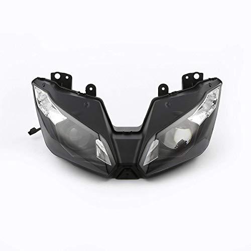 Sportbike Headlights SHL-2316-5 Black Motorcycle Headlight