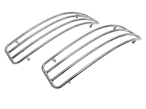 Chrome Top Rails for Kawasaki Vulcan VN1500 VN1600 VN1700 Nomad Hard Saddlebags