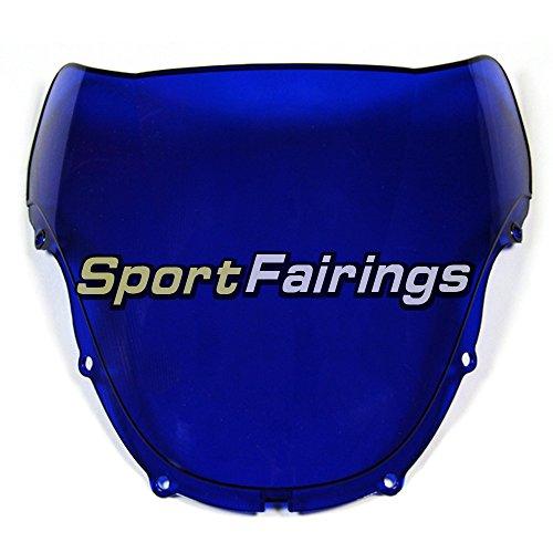 Motorbike Windshield For Honda CBR600 F4 Year 1999 2000 Fairing Windscreen Blue