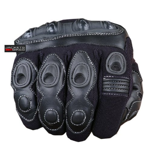 New Max Motorcycle Powersports Racing Tactical Paintball Bike Black Gloves L