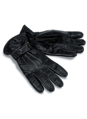 Milwaukee Motorcycle Clothing Company Motorcycle Leather Riding Gloves Black Medium