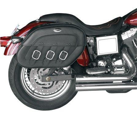 Saddlemen S4 Rigid-mount Slant Saddlebags Drifter Fits 96-12 Harley Fxd Dyna Super Glide