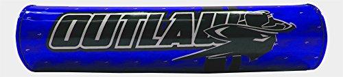 Outlaw Racing ORBP78BU Handlebar Cushion Crossbar Pad Blue Motorcycle Dirtbike