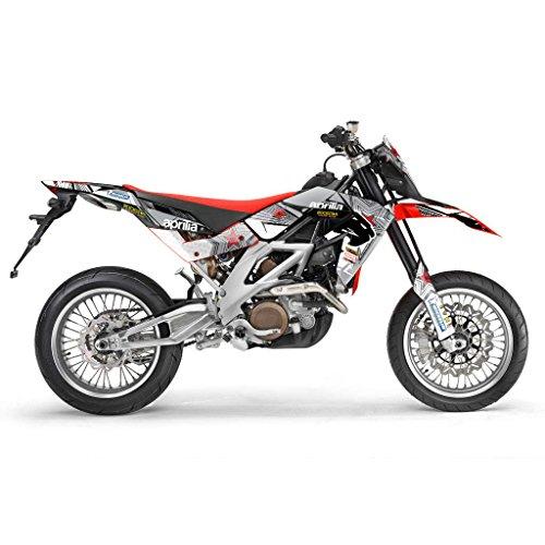 APRILIA RXV 450 550 2007 GREY DESIGN MX MOTOCROSS DECAL KIT