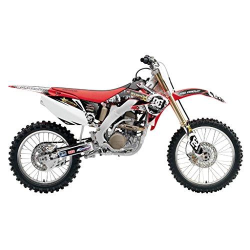 HONDA CRF 250 2004-2005 GREY YELLOW MX MOTOCROSS DECAL KIT