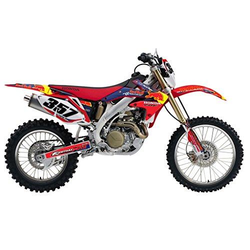 HONDA CRF 450X 2005-2015 BULL MX MOTOCROSS DECAL KIT