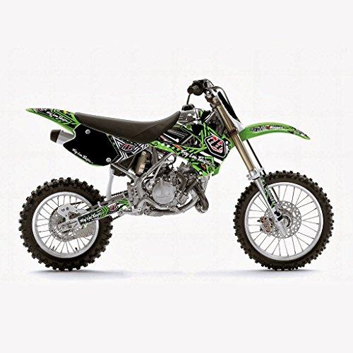 KAWASAKI KX 85 2001-2012 GREEN MX MOTOCROSS DECAL KIT