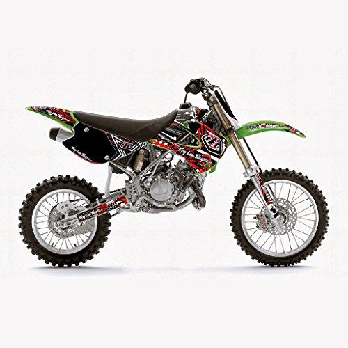 KAWASAKI KX 85 2001-2012 RED MX MOTOCROSS DECAL KIT