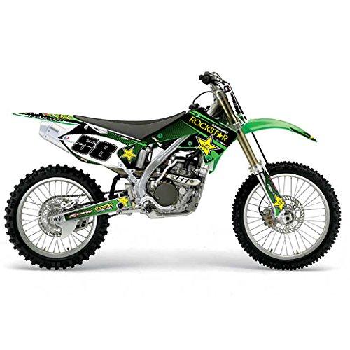 KAWASAKI KXF 250 2005 GREEN MX MOTOCROSS DECAL KIT