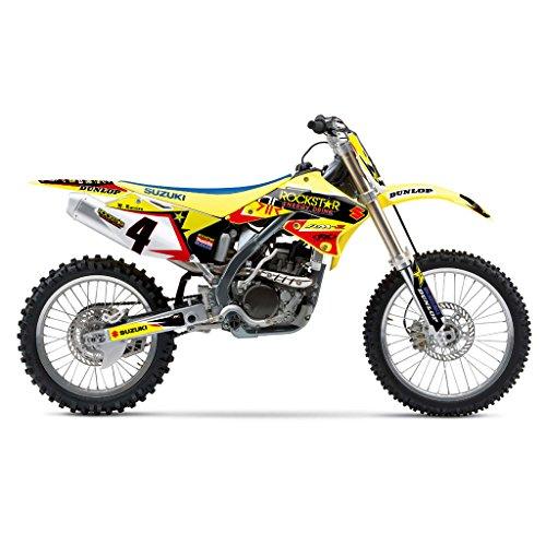 SUZUKI RMZ 250 2004 YELLOW V1 MX MOTOCROSS DECAL KIT
