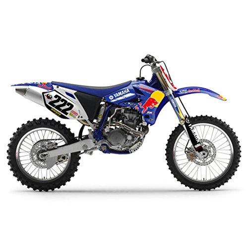 YAMAHA YZ 250F 450F 2003-2005 BLUE BULL MX MOTOCROSS DECAL KIT