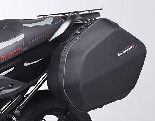 SW-MOTECH Bags-Connection Aero ABS Sidecase Rigid Textile Saddlebag Set