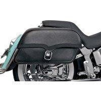 Saddlemen Jumbo Midnight Express Drifter Slant Saddlebags For Harley-Davidson
