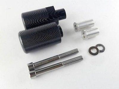 Carbon Fiber Look Frame Slider Sliders Delrin Crash Protection Fairing Protectors For 2004-2005 Suzuki GSX-R GSXR 600 750 K4 04-05