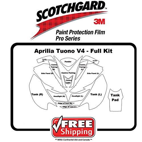 Aprilia Tuono V4 2011 -2017 - 3M 948 PRO SERIES Film - Paint Protection Kit
