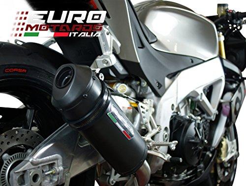 Aprilia Tuono V4 RR Factory 2015-2016 GPR Exhaust SlipOn Silencer Ghisa New