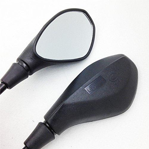 Black Rearview mirrors for Aprilia SR Motard RXV SXV Pegaso Shiver Mana Tuono