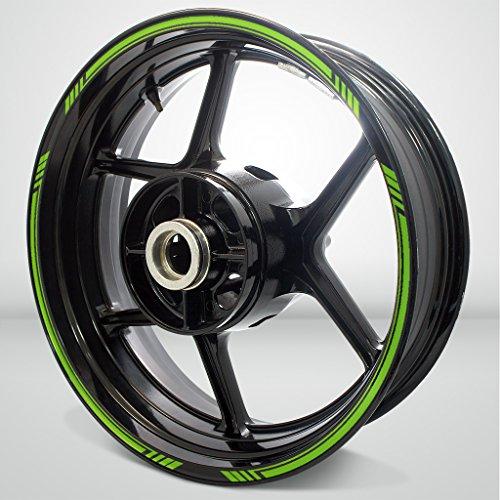 Matte Green Line Outer Rim Liner Stripe for Aprilia Tuono V4