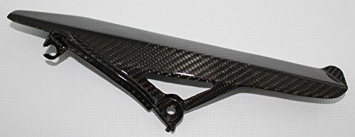 Carbon Fiber Racing ASA35CFFG Carbon Fiber  Fiberglass Aprilia Shiver 750 2007-2009 Chain Guard