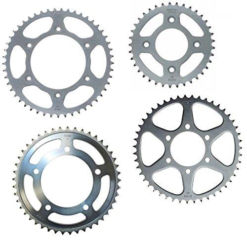 Sunstar 2-142353 53-Teeth 420 Chain Size Rear Steel Sprocket