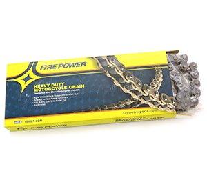 Fire Power Heavy Duty Motorcycle Chain - 520 - 140 Link