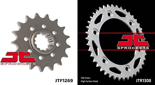 Front Rear Sproket Kit CBR1000 RA-ABCDEFG Fireblade C-ABS-520 Chain Conversion 10-16 JT Sprockets